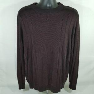 Pronto Uomo maroon XXL CrewNeck Sweater
